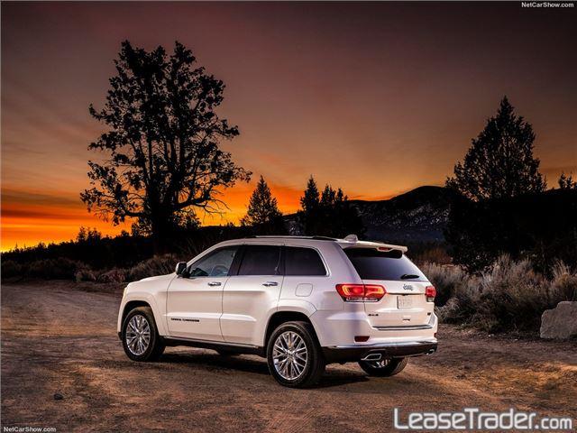 2017 Jeep Grand Cherokee Laredo Side