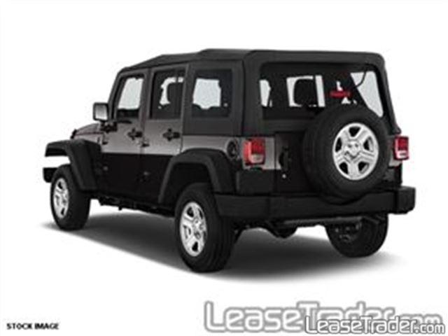 2017 Jeep Wrangler Unlimited Sport Rear