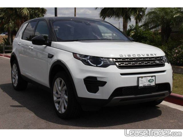2017 Land Rover Discovery SE Front