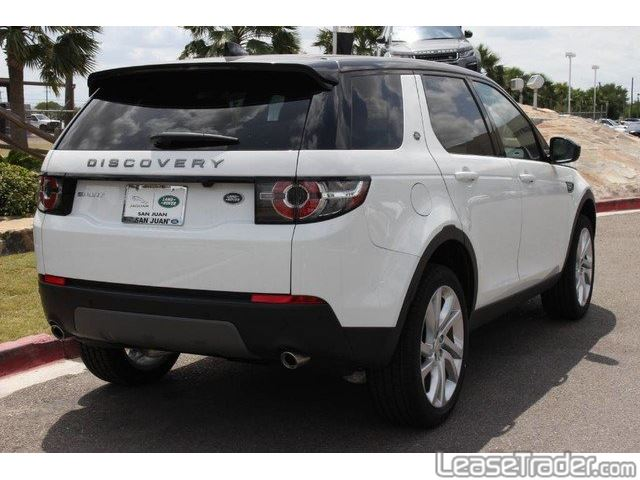 2017 Land Rover Discovery SE Rear