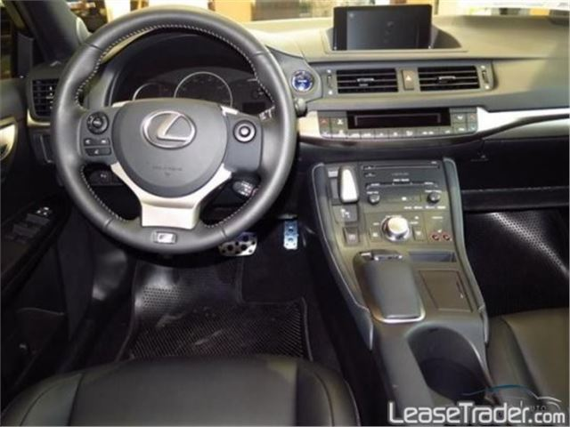 2017 Lexus CT 200h Hybrid Dashboard