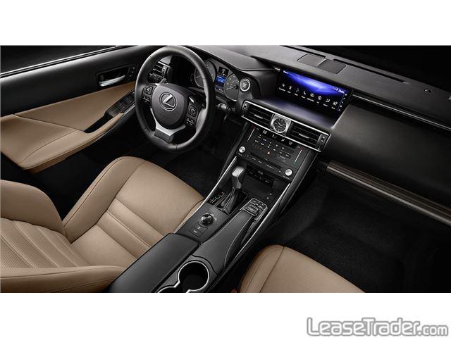 2017 Lexus GS 350 Dashboard