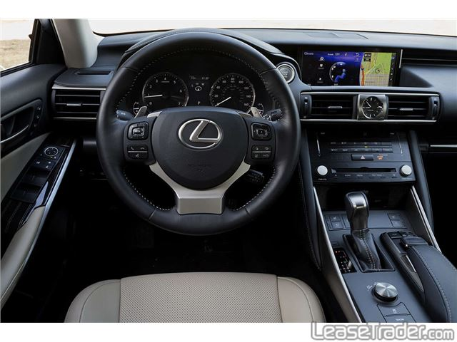 2017 Lexus IS 200t Dashboard