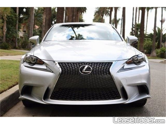 2017 Lexus IS 200t Front