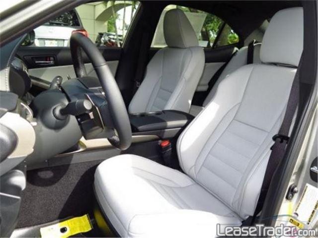 2017 Lexus IS 200t Interior