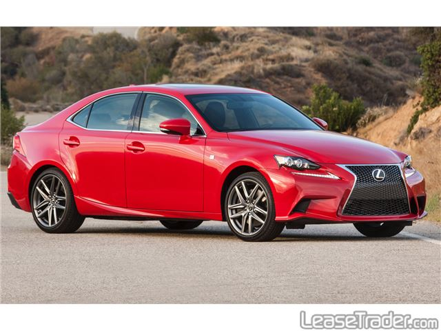 2017 Lexus IS 200t Side