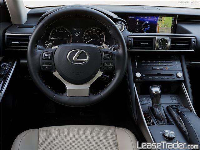 2017 Lexus IS 300 Dashboard