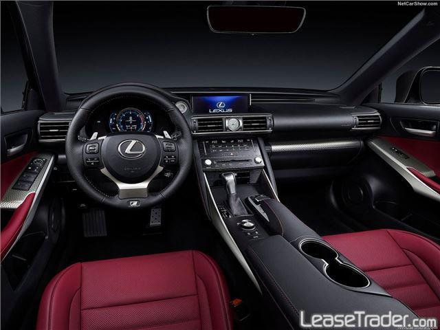 2017 Lexus IS 300 Interior