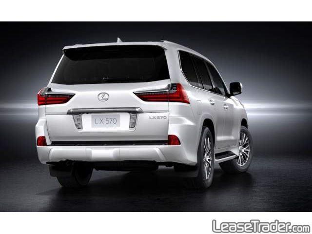2017 Lexus LX 570 Rear