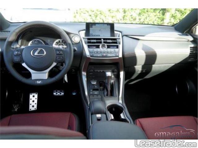 2017 Lexus NX 200t Dashboard
