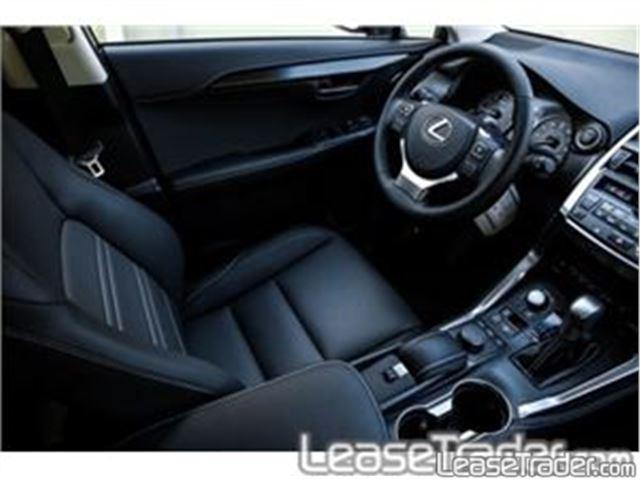 2017 Lexus NX 200t Interior