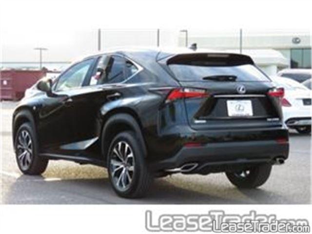 2017 Lexus NX 200t Rear