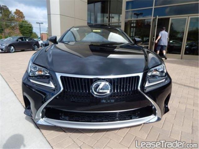 2017 Lexus RC 200t Front