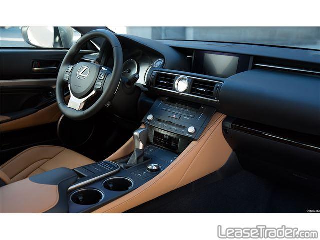 2017 Lexus RC 200t Interior
