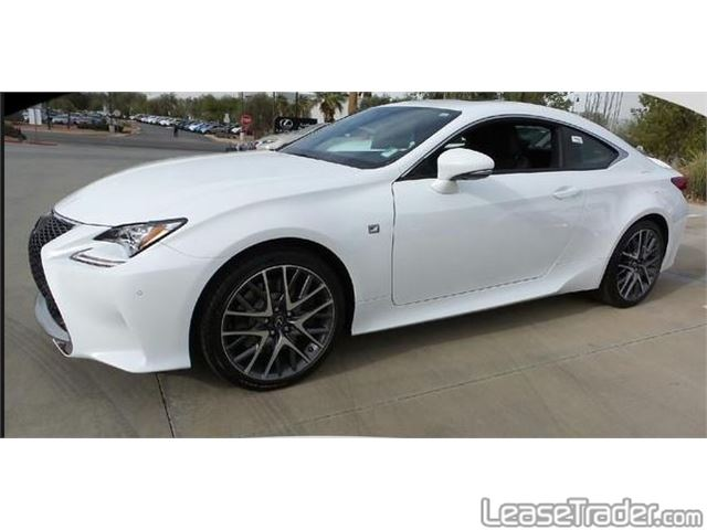 2017 Lexus RC 200t Side