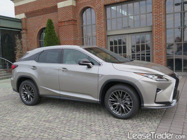 2017 Lexus RX 350 Front