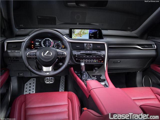 2017 Lexus RX 350 Interior