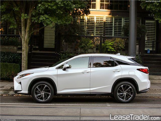 2017 Lexus RX 350 Side