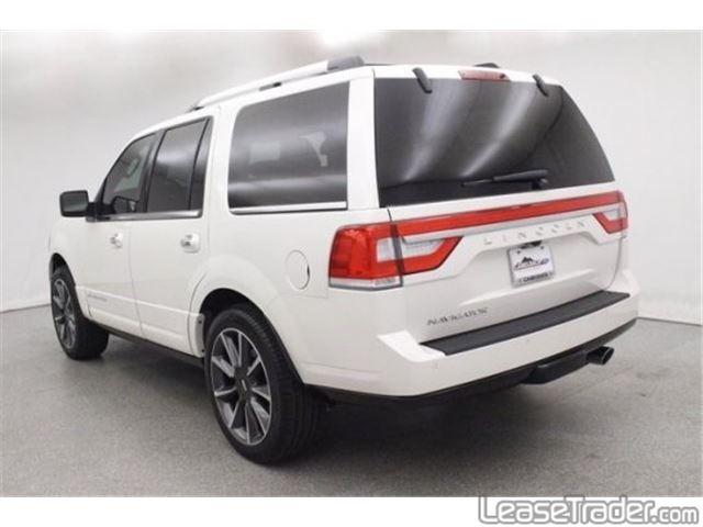 2017 Lincoln Navigator L Select Rear