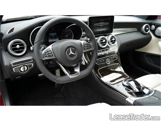 2017 Mercedes-Benz C300 Coupe Dashboard