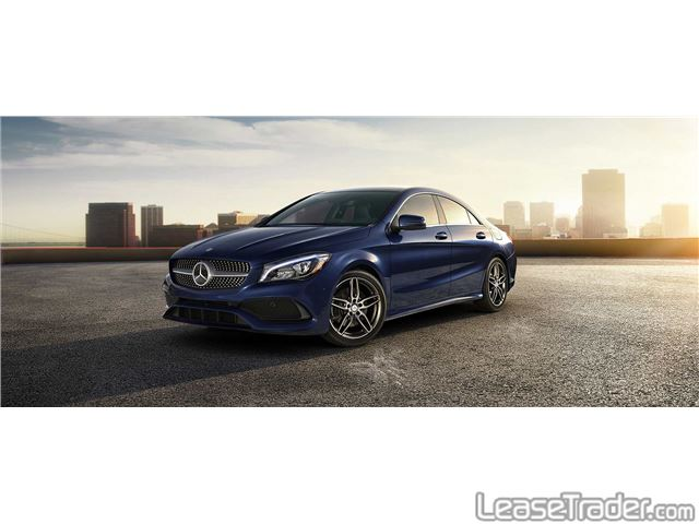 2017 Mercedes-Benz CLA250 4MATIC 4-Door Coupe