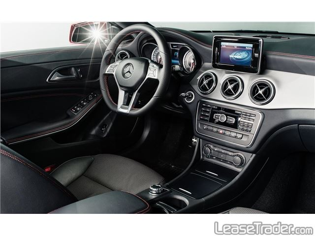 2017 Mercedes-Benz CLA250 Coupe Sedan Dashboard