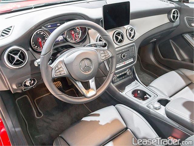 2017 Mercedes-Benz CLA250 Coupe Sedan Interior