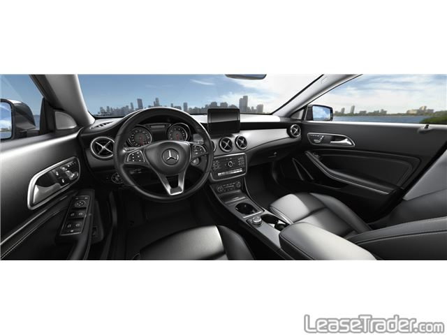2017 Mercedes-Benz CLA250 Coupe Sedan Interior