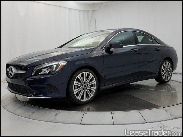 2017 Mercedes-Benz CLA250 Coupe Sedan