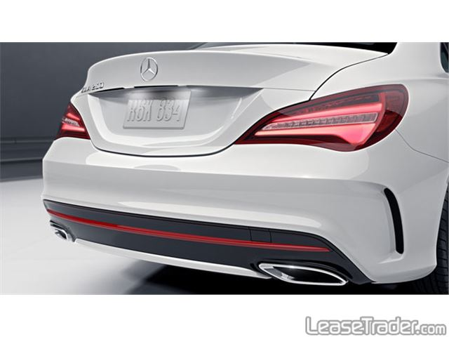 2017 Mercedes-Benz CLA250 Coupe Sedan Rear