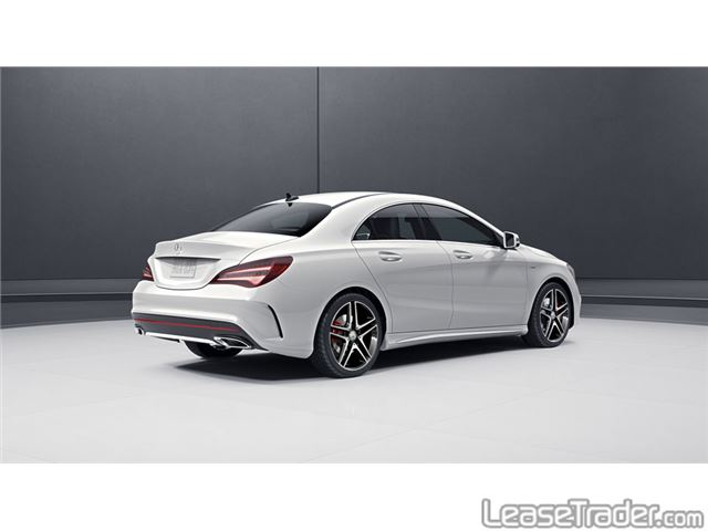 2017 Mercedes-Benz CLA250 Coupe Sedan Side