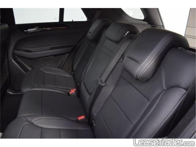 2017 Mercedes-Benz GLE350 4MATIC SUV Interior