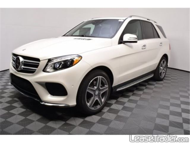 2017 Mercedes-Benz GLE350 4MATIC SUV Side