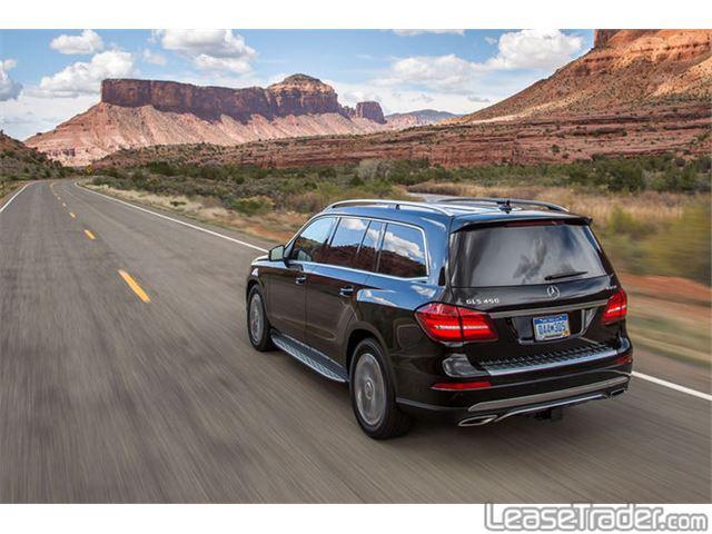 2017 Mercedes-Benz GLS450 SUV Rear