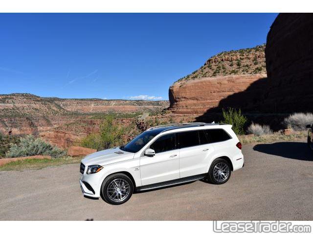 2017 Mercedes-Benz GLS450 SUV Side