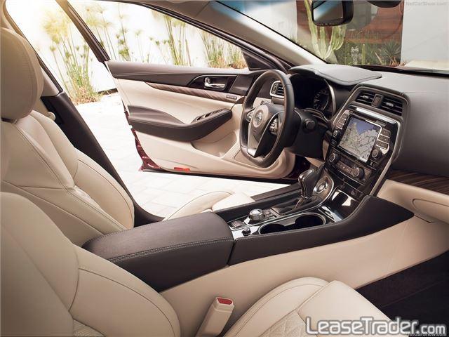 2017 Nissan Maxima 3.5 S Dashboard