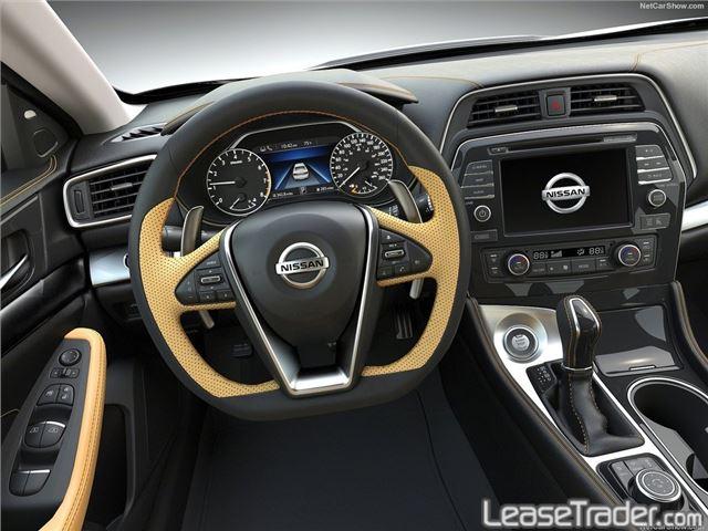 2017 Nissan Maxima 3.5 S Interior