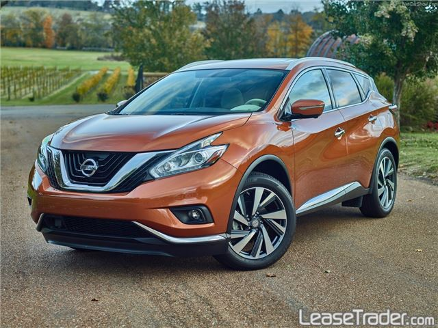2017 Nissan Murano S Front