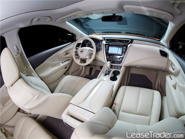 2017 Nissan Murano S Interior