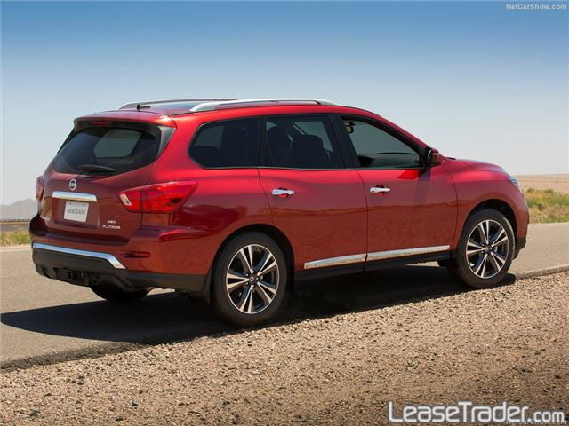 2017 Nissan Pathfinder S Rear