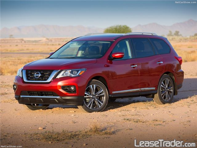 2017 Nissan Pathfinder S Side
