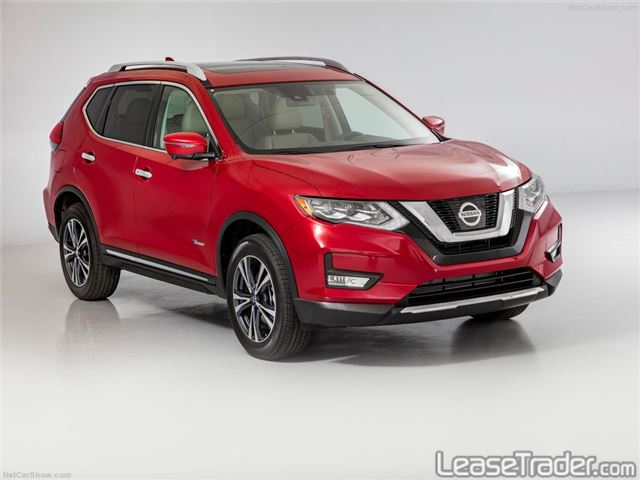2017 Nissan Rogue S Front