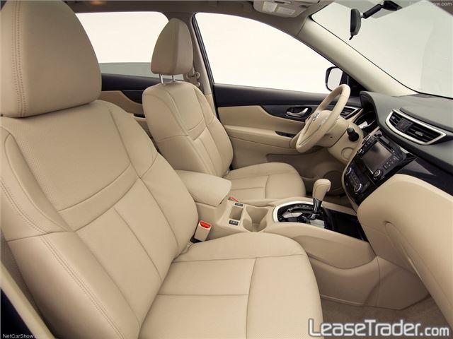 2017 Nissan Rogue S Interior