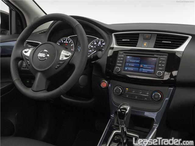 2017 Nissan Sentra S Dashboard