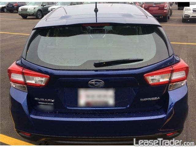 2017 Subaru Impreza 2.0i Limited Rear