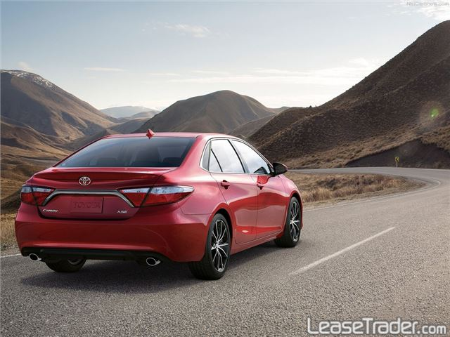 2017 Toyota Camry LE Rear