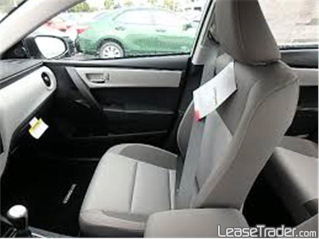 2017 Toyota Corolla L Interior
