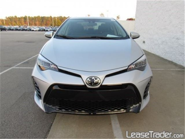 2017 Toyota Corolla SE Special Edition Front