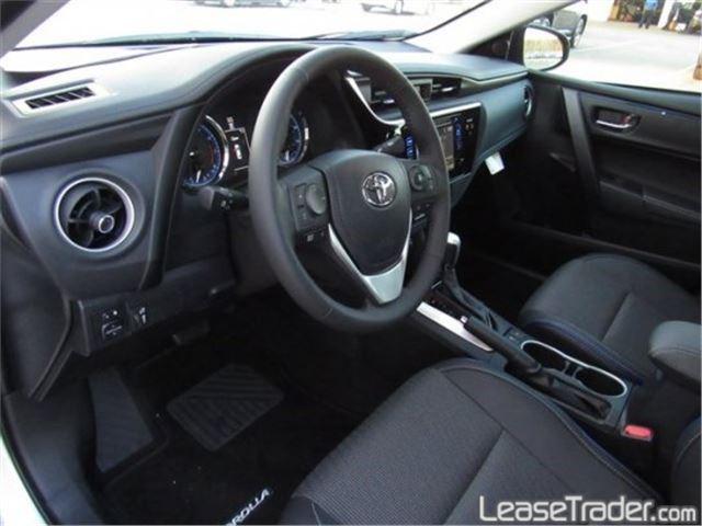 2017 Toyota Corolla SE Special Edition Interior