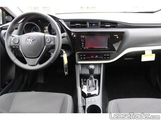 2017 Toyota Corolla iM Hatchback Dashboard